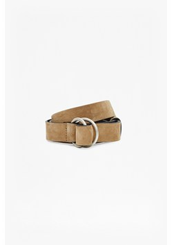 Casual Suede Ring Belt