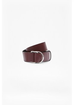 Double Buckle D Ring Belt
