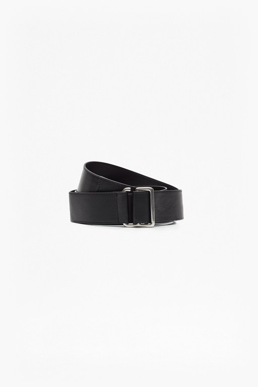 casual leather tie belt