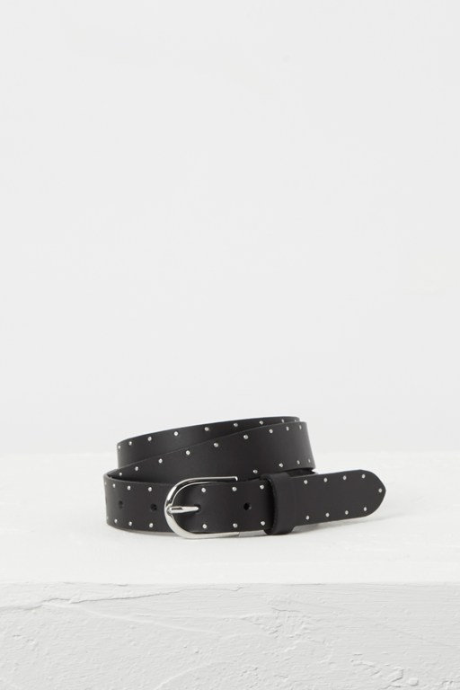 osen studded stripe belt
