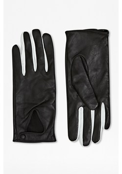 Triangle Leather Gloves