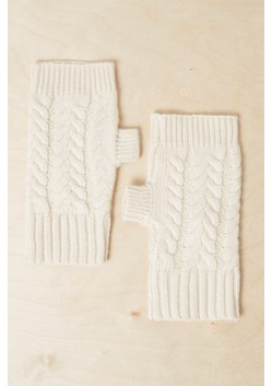 Rita Cable Knit Mittens