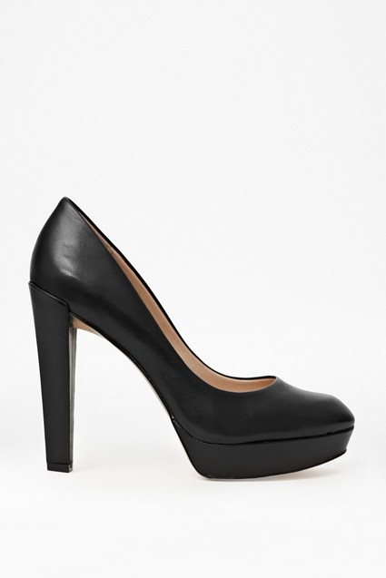 Nambia High-Heeled Leather Pumps