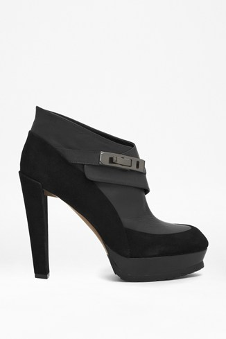 Nadia High-Heeled Leather Boots