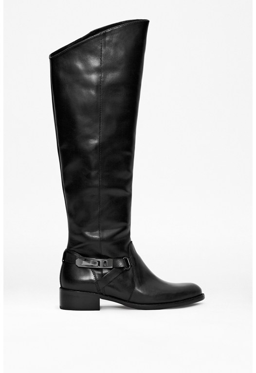 Yolanda Knee-High Leather Boots
