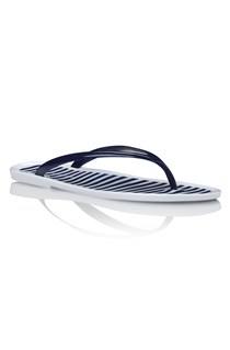 Ellie Stripe Jelly Thong Sandals