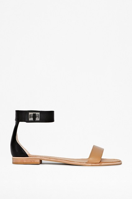 Hanna Leather Sandals