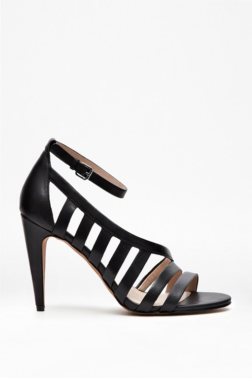 Complete the Look Nayden Cut Out Leather Heels
