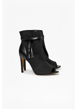 Quinby Peep Toe Ankle Boots