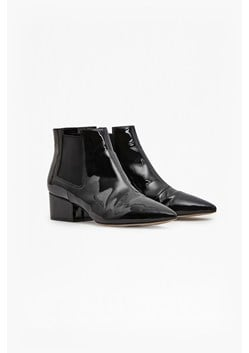 Ronan Patent Ankle Boots