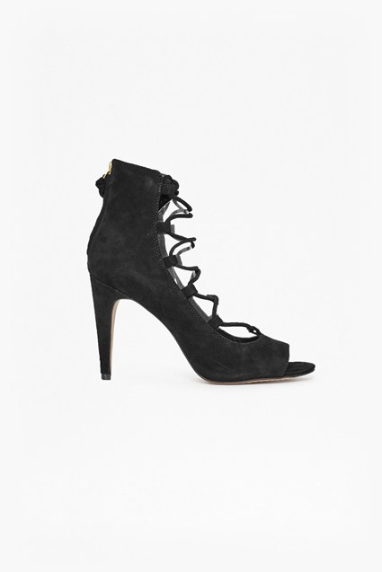 Narina Suede Lace Up Heels