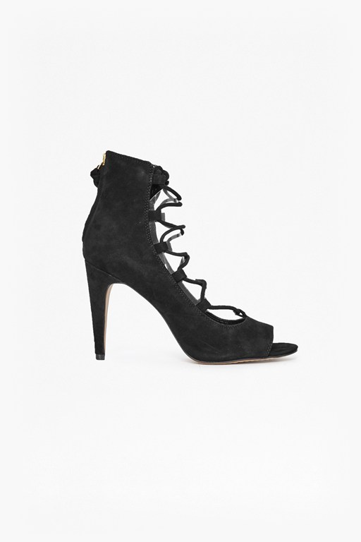 Complete the Look Narina Suede Lace Up Heels