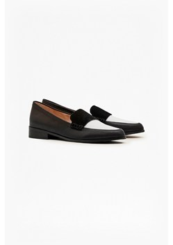 Logann Leather Colour Block Loafers