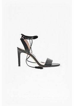 Liesel Lace Up Heeled Leather Sandals