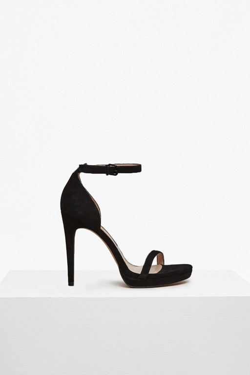 Complete the Look Kali Suede Stiletto Heeled Sandals