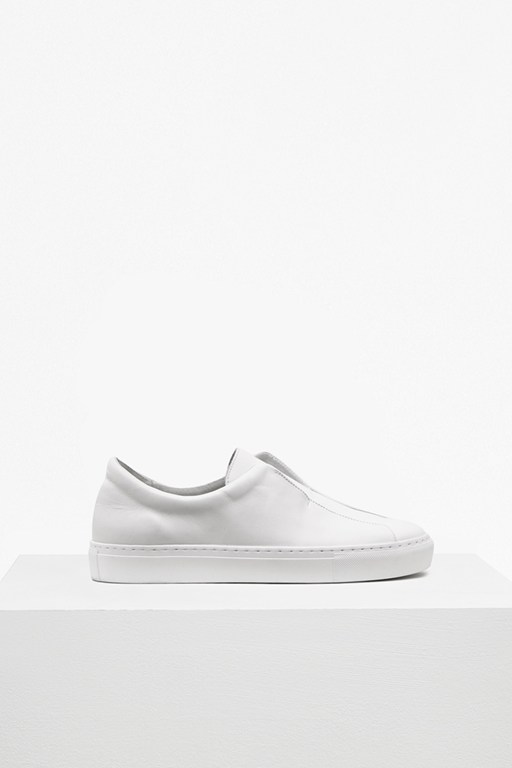 Complete the Look Sara Non Eyelet Leather Trainers