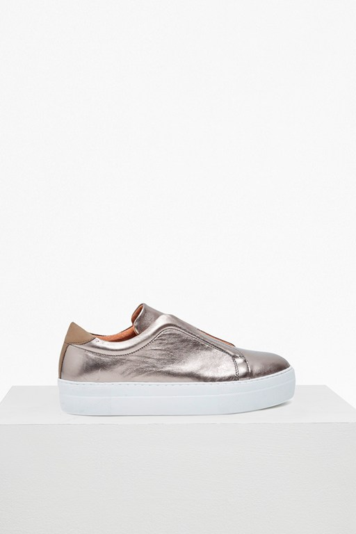 sara slip on platform trainers