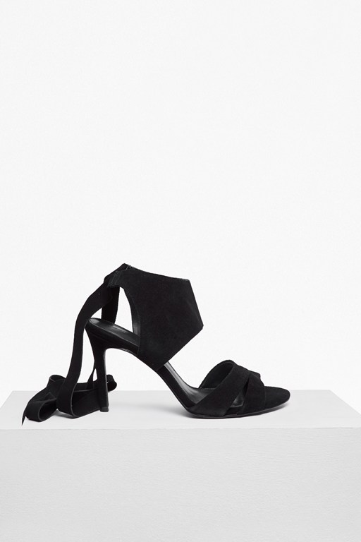 Complete the Look Fearne Suede Ankle Wrap Heels