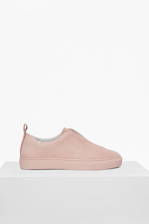 Complete the Look Sara Clean Suede Slip On Trainers