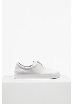 Sara Non Eyelet Leather Trainers