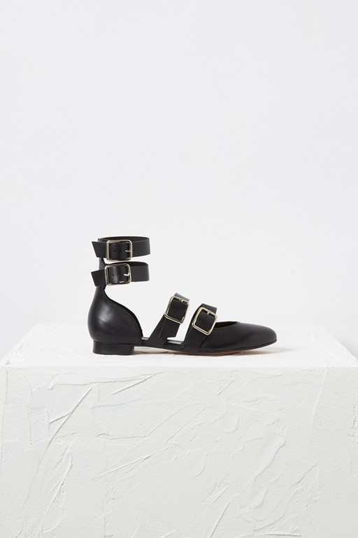 eleni strappy buckle pumps