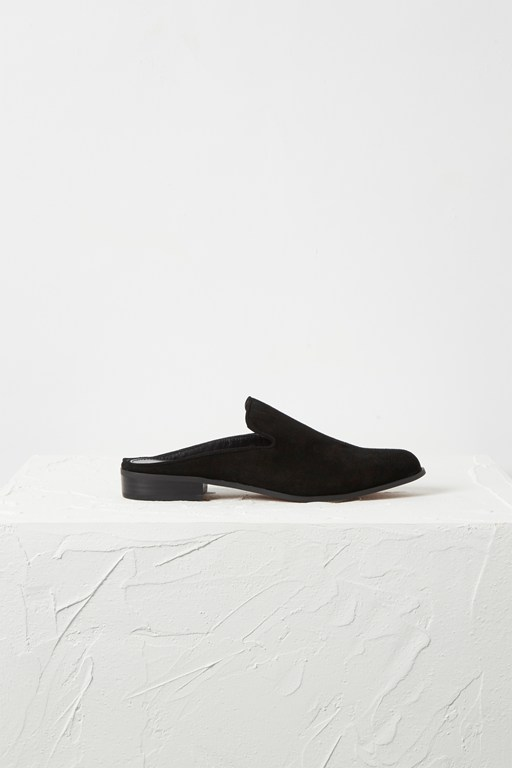 eliza suede loafer