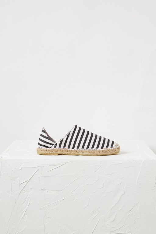 Complete the Look Adeline Stripe Canvas Espadrilles