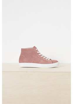 Edie Suede High Top Trainers