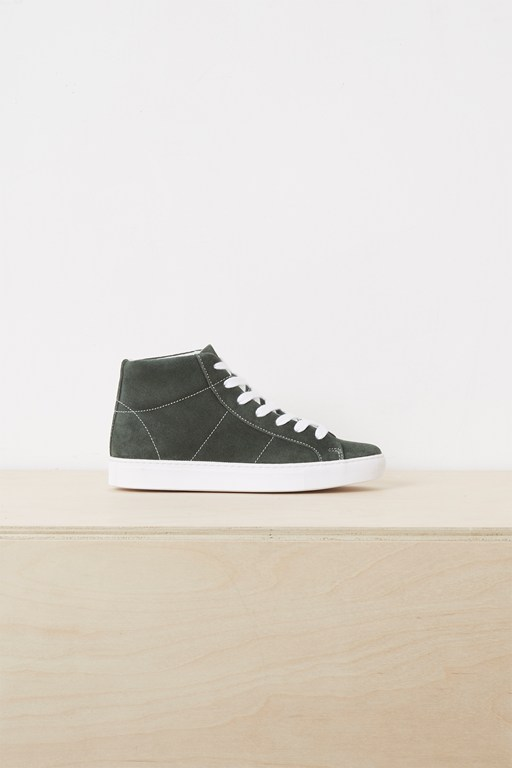 Complete the Look Edie Suede High Top Trainers