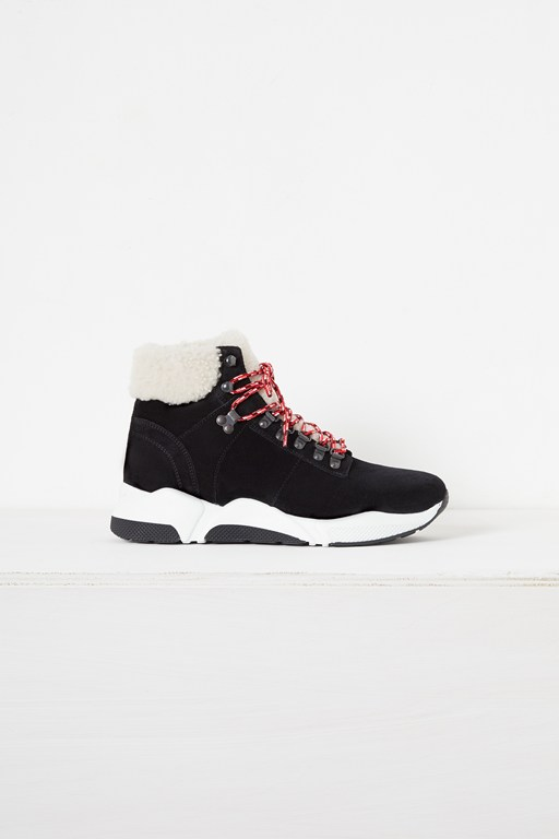 enzo leather hiking boot