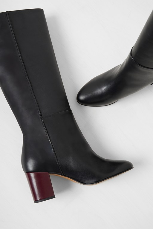 Complete the Look Renzo Leather Knee High Boots
