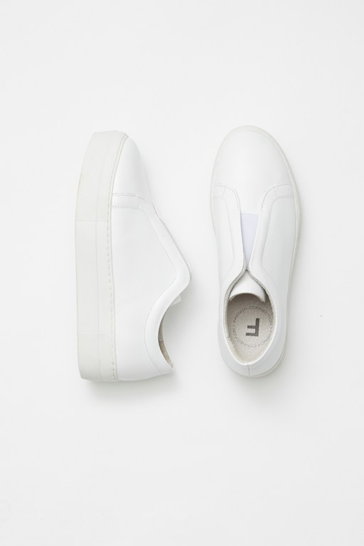 Complete the Look Sara Elastic Slip On Trainers