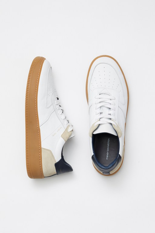 Complete the Look Elba Lace-Up Leather Trainers