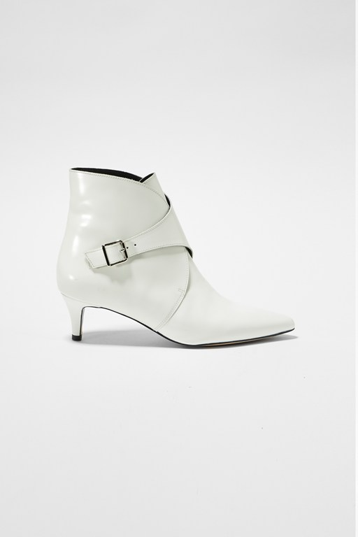Complete the Look Buckled Ankle Boots