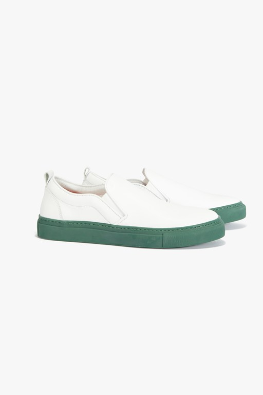 Complete the Look Leather Slip On Sneaker