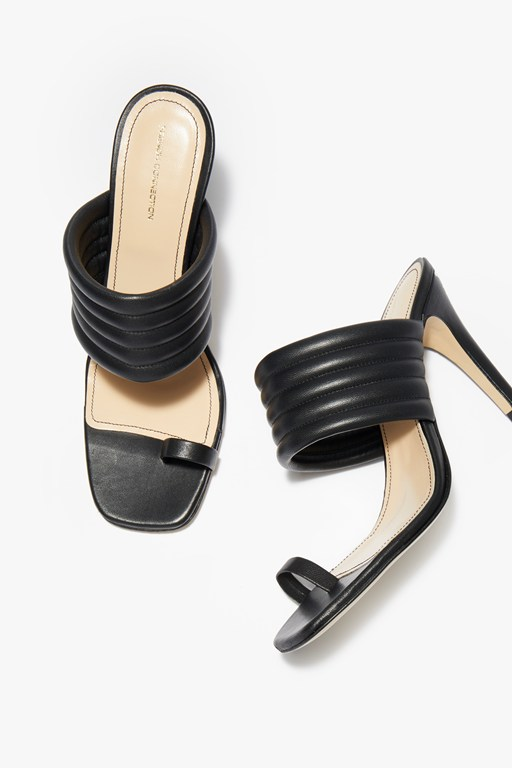 Complete the Look Quilted Strappy Heeled Sandals