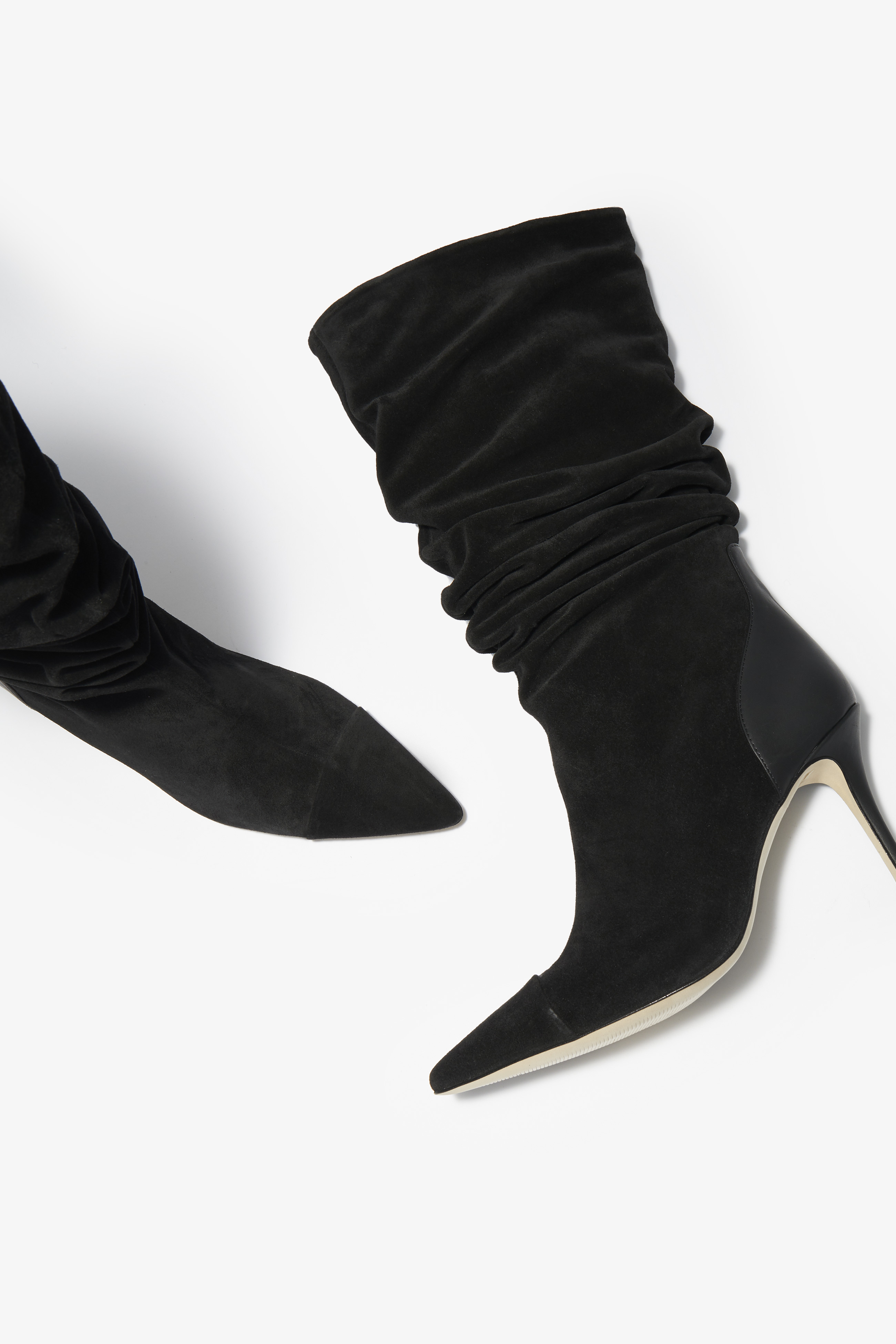 Suede Knee High Boot | Collections