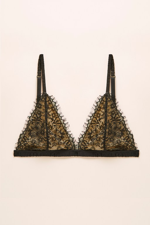 triangle bralette