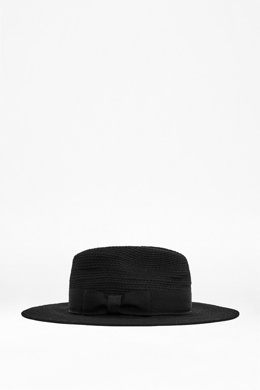 Complete the Look Textured Bow Trilby