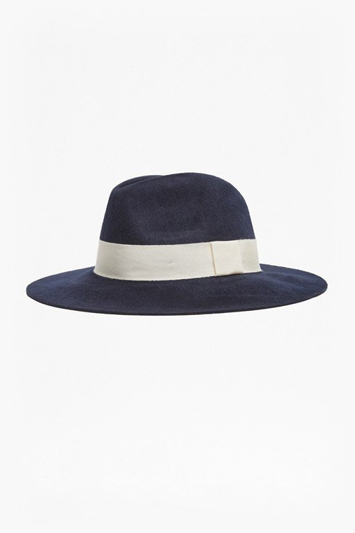 Complete the Look Brushed Felt Fedora