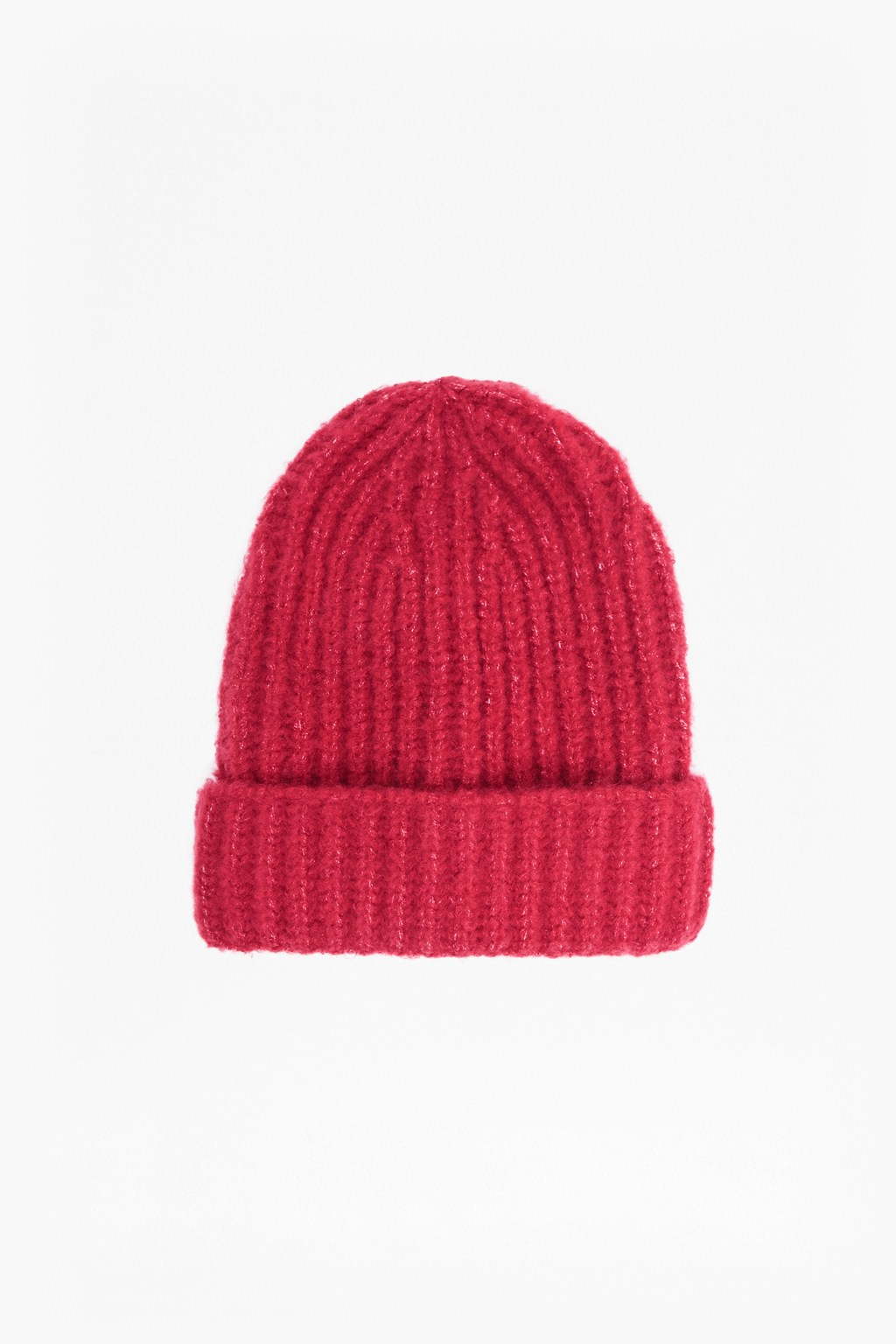 Ribbed Knit Beanie Hat  337bec4f540