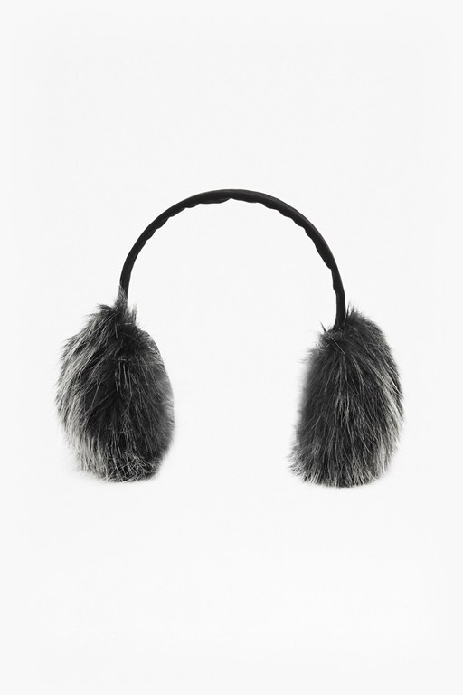 fur ear warmers