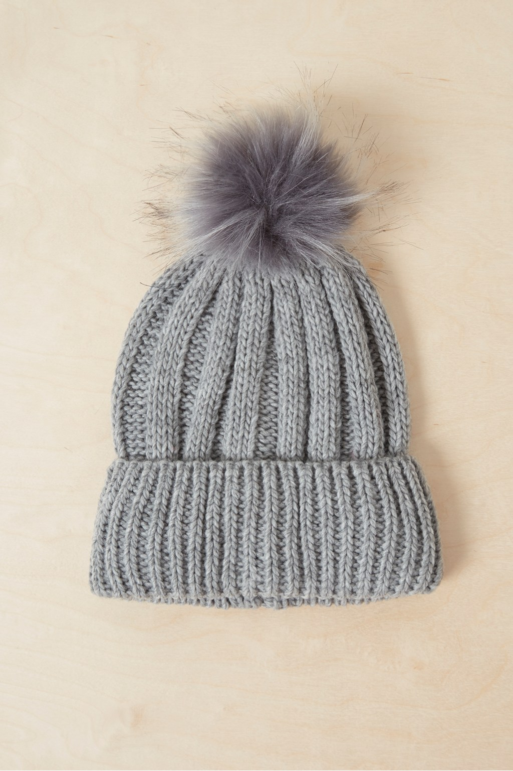 e1ea9ff2 Faux Fur Pom Beanie Hat | Collections | French Connection