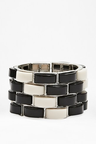 Graphic Stretch Bracelet