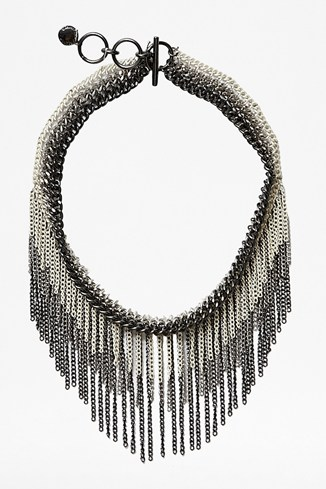 Multi Fringe Necklace