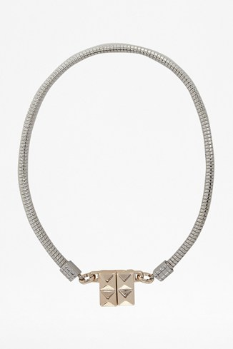 Pyramid Clasp Necklace