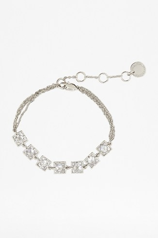 Faceted Window Crystal Bracelet
