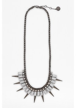 Deco Spike Box Chain Necklace