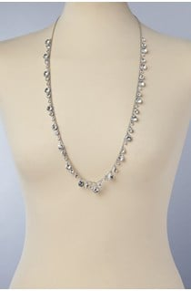 Crystal Rope Necklace