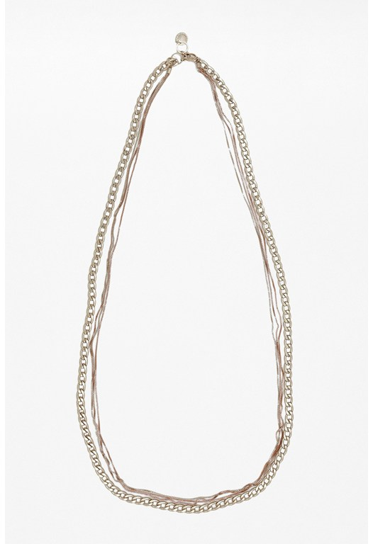 Herringbone Box Chain Necklace